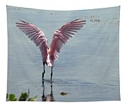 Pink Wings Tapestry