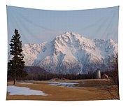 Pioneer Peak Alaska Tapestry