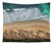 Pipeline Palms Tapestry