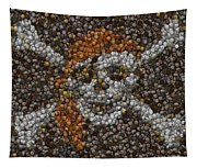 Pirate Coins Mosaic Tapestry
