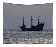 Pirate Ship At Clearwater Tapestry