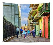 Pirate's Alley Wedding 2 - Paint Tapestry