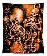 Pirates Treasure Box Tapestry