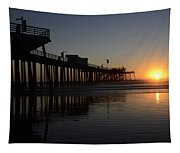 Pismo Beach Pier California 4 Tapestry
