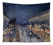 Pissarro: Paris At Night Tapestry