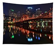 Pittsburgh Lights Tapestry