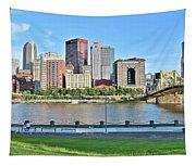 Pittsburgh Pa Panoramic Tapestry