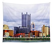 Pittsburgh Pa Skyline Tapestry