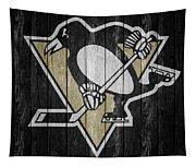 Pittsburgh Penguins Barn Door Tapestry