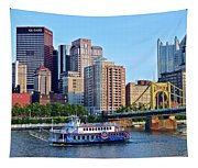Pittsburgh River Cruise  Tapestry