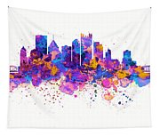 Pittsburgh Skyline Tapestry