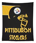 Pittsburgh Steelers Team Vintage Art Tapestry
