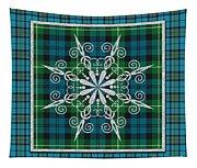 Plaid Snowflakes-jp3704 Tapestry