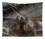 Spirit Of St Louis Propeller Airplane Tapestry