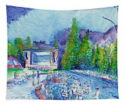 Planet Bluegrass Lyons Colorado Tapestry