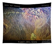 Planet Earth Seven Tapestry