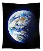 Planet Earth. Space Art Tapestry