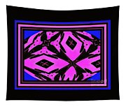 Planet Of The Aliens Abstract Tapestry