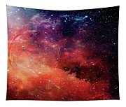 Planetary Soul Violet Tapestry