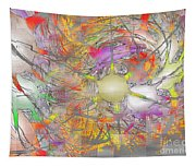 Playful Colors Of Energy Tapestry