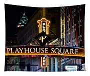 Playhouse Square Up Close Tapestry