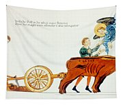 Ploughing, 12th Century Tapestry