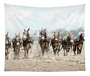 Plowing The Fields Tapestry