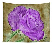 Plum Passion Rose Tapestry