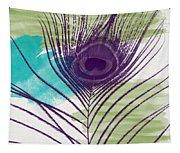 Plumage 2-art By Linda Woods Tapestry
