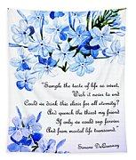 Plumbago   Poem Tapestry