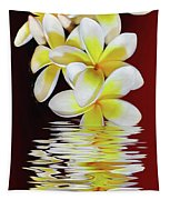 Plumeria Reflections By Kaye Menner Tapestry
