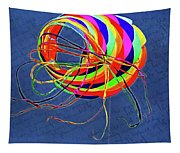 Poetry Of Kite Swirls Tapestry