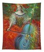 Poiesis I Art Tapestry