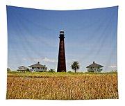 Point Bolivar Lighthouse Tapestry