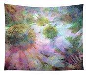 Pointillism Coneflowers 3571 Idp_3 Tapestry