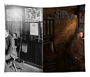 Police - The Private Eye - 1902 - Side By Side Tapestry