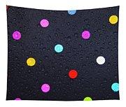 Polka Dot Umbrella Tapestry