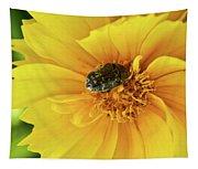 Pollen Feeding Beetle Tapestry