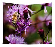 Pollen Powdered Bee Tapestry