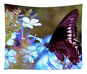 Polydamas Swallowtail Butterfly Tapestry