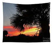 Ponce Inlet Florida Sunset Tapestry