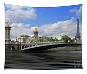 Pont Alexandre IIi Tapestry