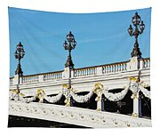 Pont Alexandre IIi - Paris, France Tapestry