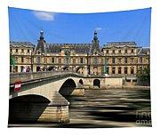 Pont Du Carrousel Tapestry