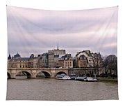Pont Neuf In Paris Tapestry