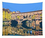 Ponte Vecchio Florence Tapestry