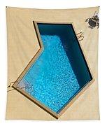 Pool Modern Tapestry