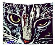 Face Of The Feline Tapestry