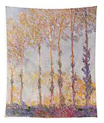 Poplars On The Banks Of The Epte Tapestry