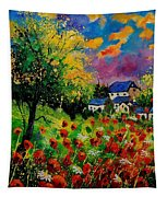 Poppies And Daisies 560110 Tapestry